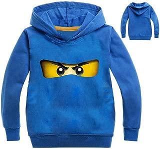 Unisex Cool Ninja Hoodies Pullover Hooded Sweatshirts for Boys and Girls