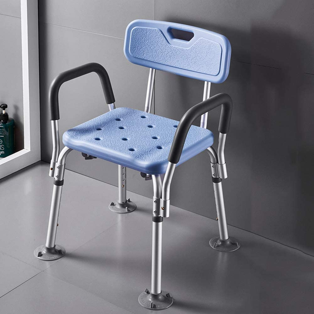 ZPTAT Shower Seats for Limited time for free shipping Elderly Stool Heavy Duty Courier shipping free Adult Di