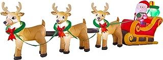 Best santa sleigh gif Reviews