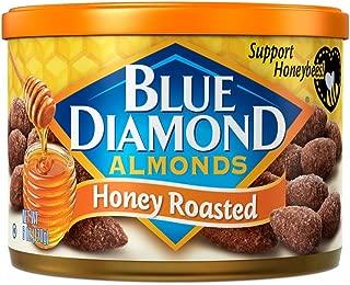 Blue Diamond Almonds, Honey Roasted, 6 Ounce (Pack of 12)