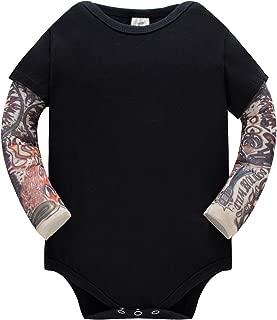 Huata Baby Girls Onesies Bodysuit Baby Romper