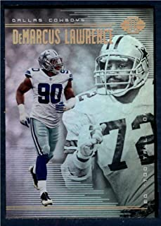 "2018 Panini Illusions Football #100 DeMarcus Lawrence/Ed""Too Tall"" Jones Dallas Cowboys Official NFL Trading Card"