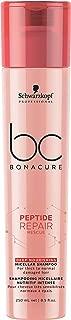 BC BONACURE Peptide Repair Rescue Deep Nourishing Micellar Shampoo, 8.4-Ounce