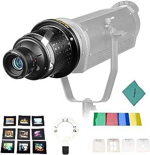 NiceFoto SN 29 Flash Blitz Snoot Video Light Art Snoot mit YONGNUO YN50mm F1.8 Objektiv Bowens Mount Fotoausrüstung Zubehör