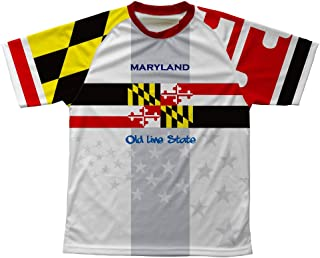ScudoPro Maryland Flag Technical T-Shirt for Men and Women
