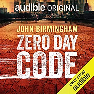 Zero Day Code audiobook cover art