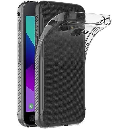 ivoler Funda Carcasa Gel Transparente para Samsung Galaxy Xcover 4 / Samsung Galaxy Xcover 4S, Ultra Fina 0,33mm, Silicona TPU de Alta Resistencia y Flexibilidad