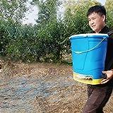 BJYX Aplicador de Fertilizante Eléctrico Alimentador de Jardín 25 litros se Puede Rociar con Fertilizante Compuesto Urea Pienso en Pellets Agente para Derretir Nieve Semillas Materia Seca Granular