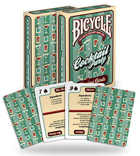 Bicycle Vélo Cocktail Jeu de Cartes, 1029611, 1 pièce
