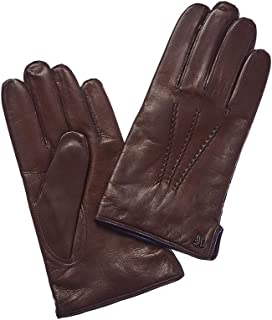 Hickey Freeman Leather Glove with Cashmere Lining