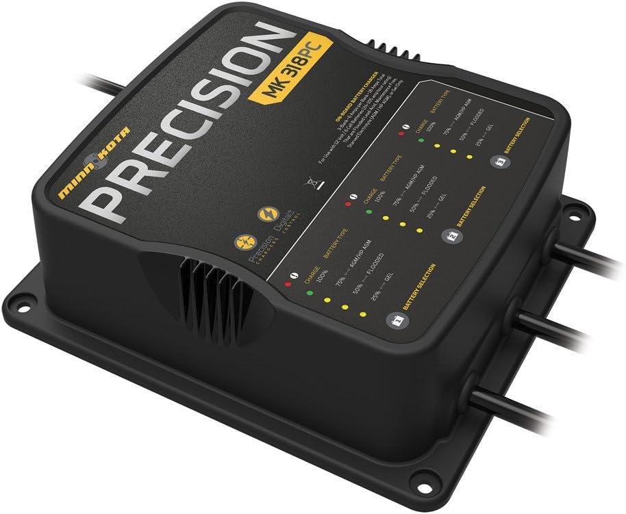 Minn Kota MK318PC 3 Bank x 6 Amp Precision Charger
