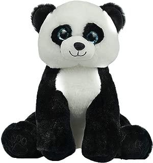 BEAREGARDS.COM Recordable Panda Bear with 30 Second Digital Recorder