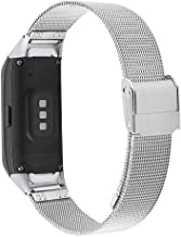 for Galaxy Fit r370 Bands,ViCRiOR Mesh Woven Stainless Steel Bracelet Wrist Watch Band Strap with Adapters Replacement for...