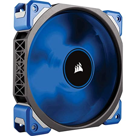 Corsair Ml120 Pro Led Pc Gehäuselüfter Schwarz Blau Computer Zubehör