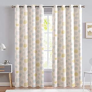 Kids Room Curtains Cloud Printed Nursery Room Darkening...