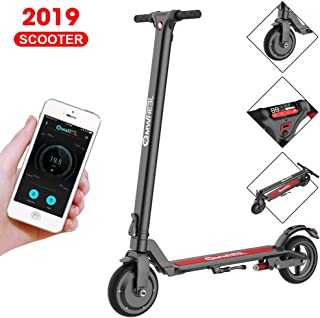 APP Electric Scooter Adults,LCD Display,Fixed Speed Cruise,USB Charger,30KM Long-Range,3 Speed Adjustable,8 inch Dual 350w High Power Motors,Ultra Lightweight,3 seconds Folding E-Scooter for Teenager