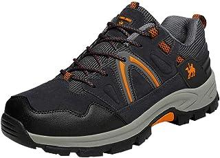 Men Mesh Breathable Sneakers Non-slip, Male Couple Plus Cotton Warm Wear-Resistant Hiking Shoes Flat Sport Shoe