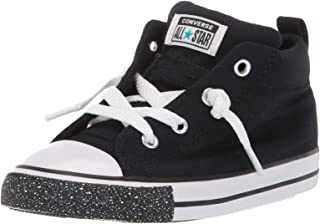 Kids' Chuck Taylor All Star Street Speckle Toe Mid Top Sneaker