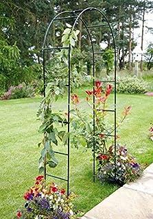 Arco de metal para jardín 2,4m para