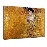 Keilrahmenbild Gustav Klimt Adele Bloch Bauer I - 120x90cm