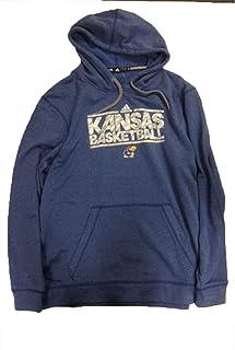 Kansas Jayhawks Adidas Blue Ultimate Hood Sweatshirt