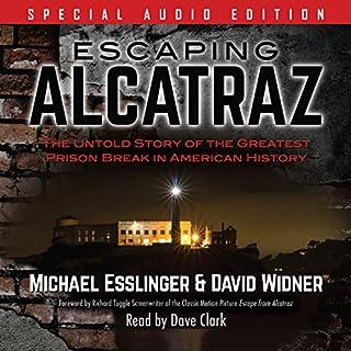 Escaping Alcatraz audiobook cover art