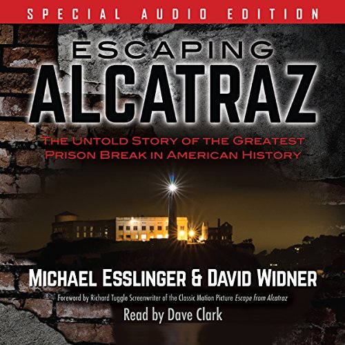 Escaping Alcatraz audiobook cover art