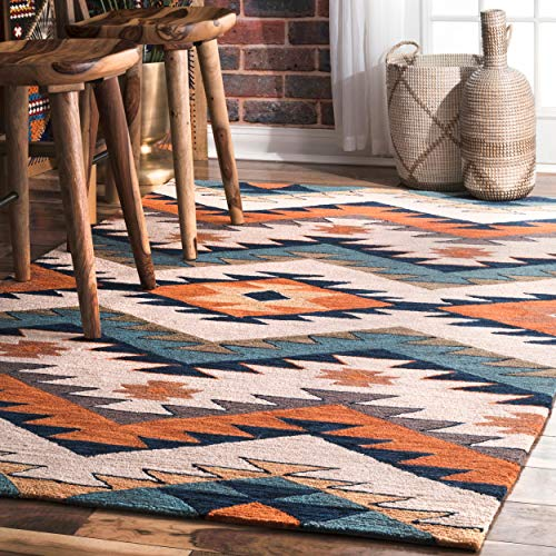 nuLOOM Rhona Tribal Area Rug, 4' x 6', Multi