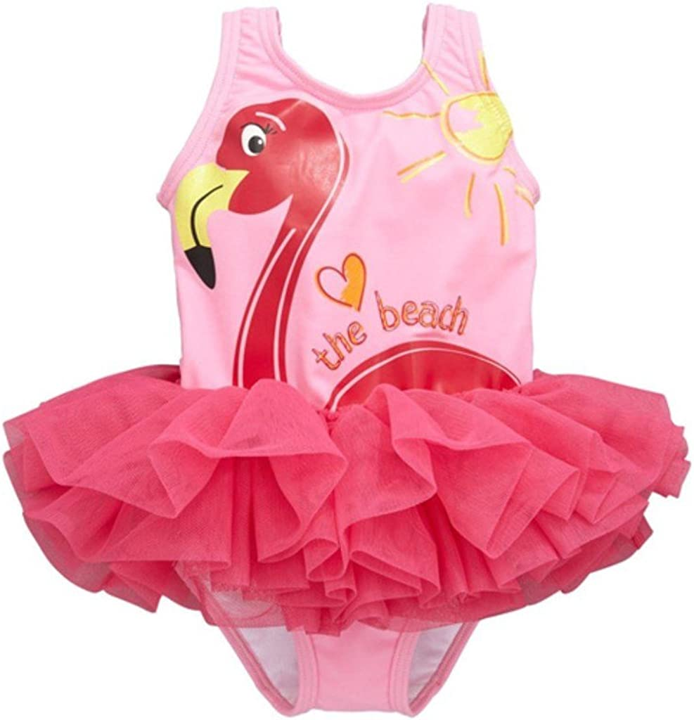 Complete Free Shipping SKY-ST Toddle Swan Tucson Mall Baby Girls Flower Tankini Piece One Flounced