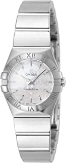 Women's 123.10.24.60.05.001 Constellation Mother-Of-Pearl Dial Watch