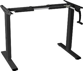 FLEXISPOT 昇降デスク 高さ調節 手動式 スタンディングデスク PCパソコンデスク オフィステーブル ブラックH1B(新品)