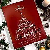 anthon berg calendario dell'avvento riempito di liquore al cioccolato 24 pezzi bottiglie 375g