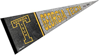 Georgia Tech Yellow Jackets Pennant Throwback Vintage Banner