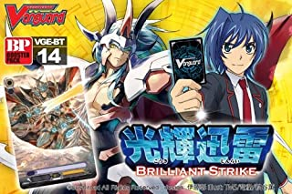 Cardfight Vanguard ENGLISH VG-BT14 Brilliant Strike Booster BOX