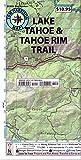 Lake Tahoe & Tahoe Rim Trails (Tom Harrison Maps)