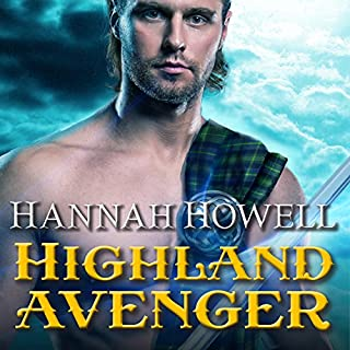 Highland Avenger audiobook cover art