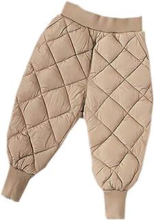 Pantalones Acolchados De AlgodóN Impermeables para NiñOs Y NiñAs OtoñO Invierno Leggings EláSticos Bebé NiñOs 2019 Pantalo...