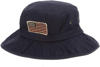 "Panama Jack USA Bucket Hat - Lightweight, Packable, UPF (SPF) 50+ Sun Protection, 2 3/4"" Big Brim"