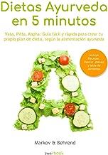 Colección Dietas Ayurveda en 5 Minutos: Vata, Pitta, Kapha