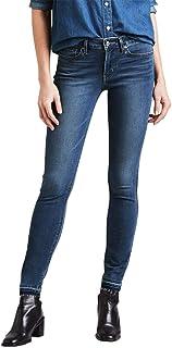 Calça Jeans Levis 711 Skinny 4 Way Stretch Feminino Escura