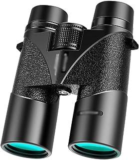 FANGFHOME télescope Jumelles Noires pour Adultes et Enfants, Jumelles compactes 10x42 Télescopes Portables pour l'observat...