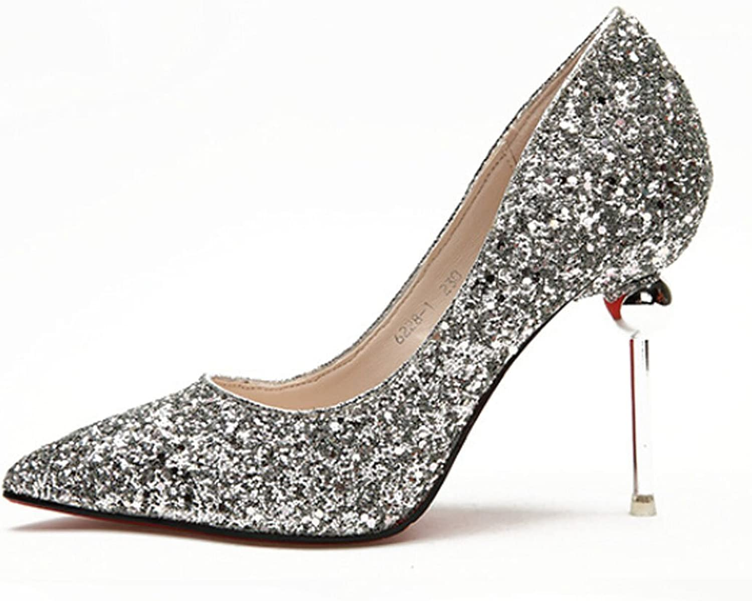 Sothingoodly Pretty Heels Sexy Women Pumps High Heels shoes Wedding Pumps Bling Bling