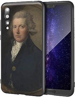 Thomas Gainsborough Huawei P20 Pro用ケース/ファインアート携帯電話ケース/高解像度ジクレーレベルUV複製プリント、携帯電話カバー(ウィリアム・ピット)