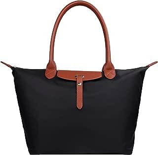 Women's Stylish Waterproof Tote Bag Nylon Travel Shoulder Beach Bags