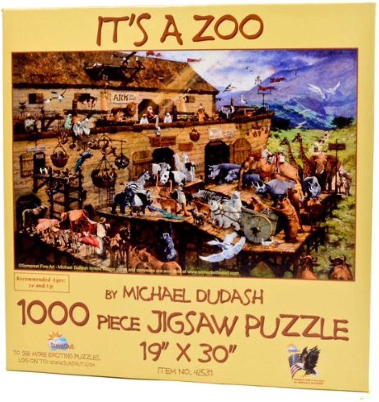 bajo precio It's a a a Zoo - A 1000 Piece Jigsaw Puzzle by SunsOut by SunsOut  tienda de venta