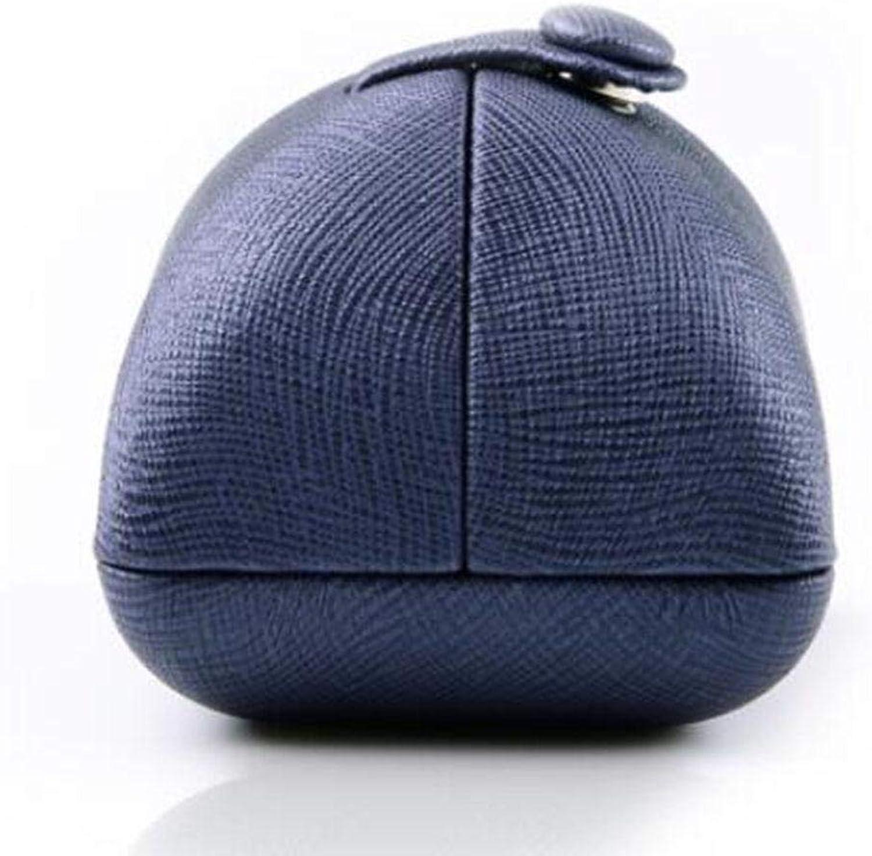 BCX die Pu vorschlagen Ring Box Double Open Snap Schmuckschatulle Navy Blau Ring Box B07H69MSZK Neues Design   | Deutschland