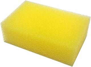 日本珪華化学工業 水切れよく衛生的 ハイホーム クリーンスポンジ 《イエロー》 7.5×11.5×3.5cm