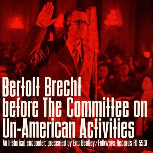 Bertolt Brecht Before The Comm [Import USA]