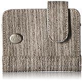 Haiku Women's Small Travel RFID Blocking Kismet Wallet, Gray Poplar