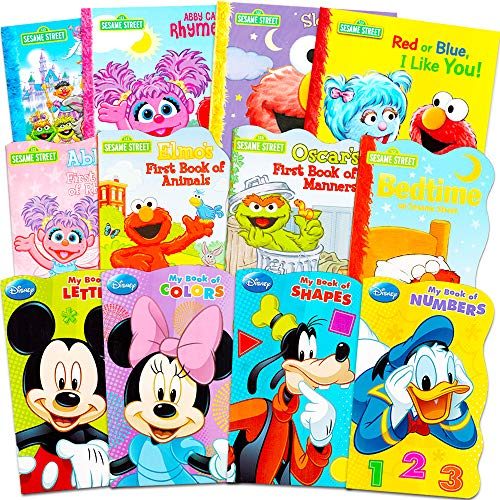 Sesame Street + Mickey Mouse Baby Toddler Beginnings Board Books  Missouri